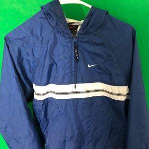 Nike Windbreaker blue/black/white vintage jacket